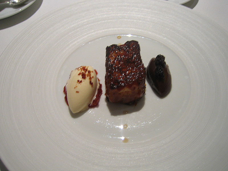 Fat Duck - Smoked Bacon and Egg Ice Cream w/ Pain Perdu & Tea Jelly
