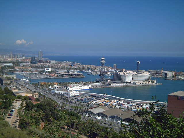 Panoramic View of Barcelona: World Trade Center
