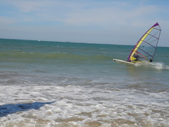 The great Guillaume Rigal windurfing in Oleron!