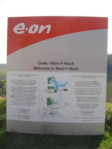 Arwydd Nant-y-moch