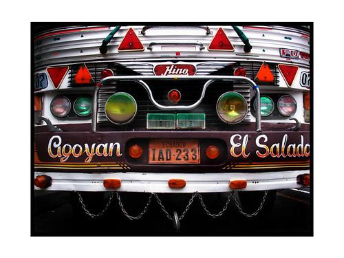 Ecuadorian bus
