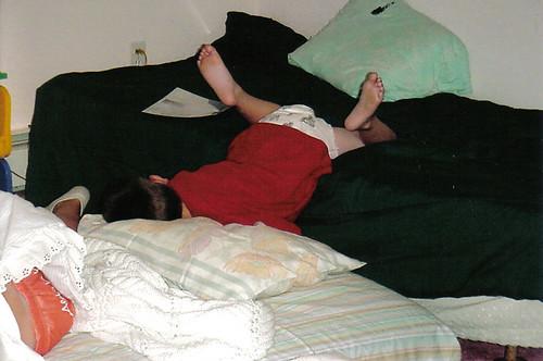 liam sleeping