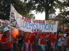 Auburn Wreck Tech Parade