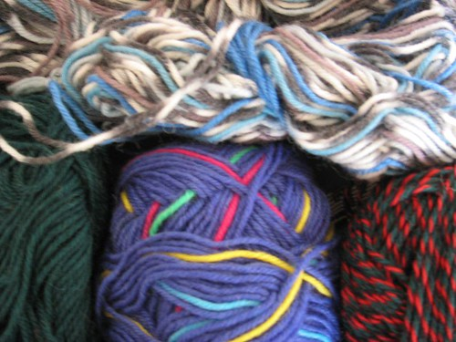 Sock yarns from Gail