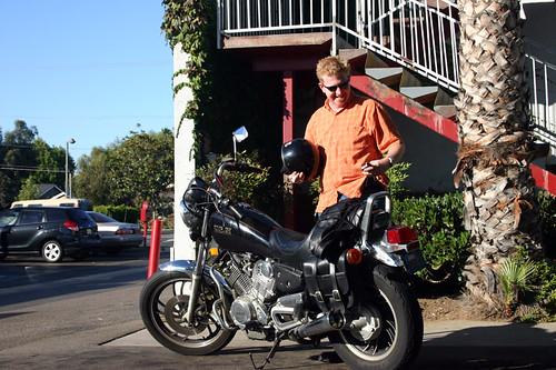 reggiT gets his bike back