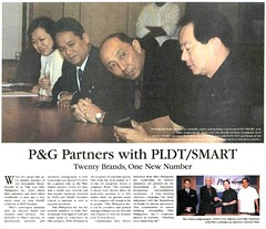 P&G and PLDT Partnership2
