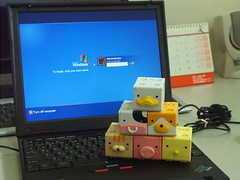 Cubee and ThinkPad