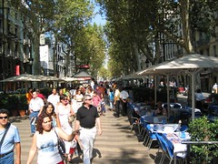 Rambling on Las Ramblas