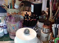 Tara's studio