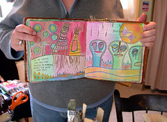 Tara's Art Camp's book