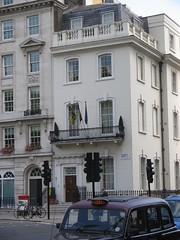 Tŷ Fflandrys, Llundain