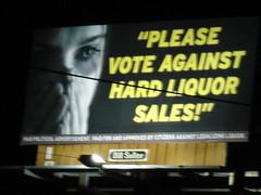 hard liquor makes women cry