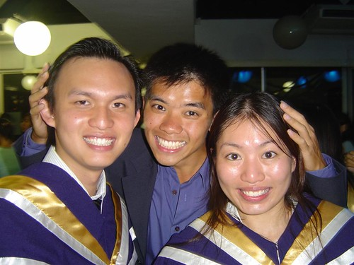 First Met Justin: Raffles Hall, September 2003; Daisy: VJC, January 1999