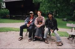 Bersama Wanita Norwegian Kat Dalam Norsk Folkemuseum, Oslo, Norway