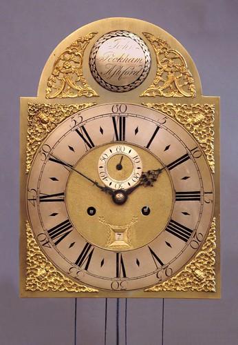 Brass dial