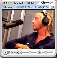 Paul Weller at KCRW