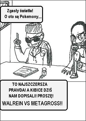 Walrein vs. metagross