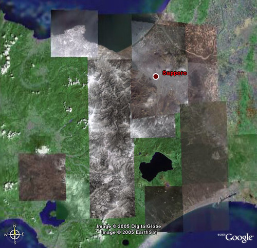 Google Earth New High-Resolution Area - Sapporo/Hokkaido