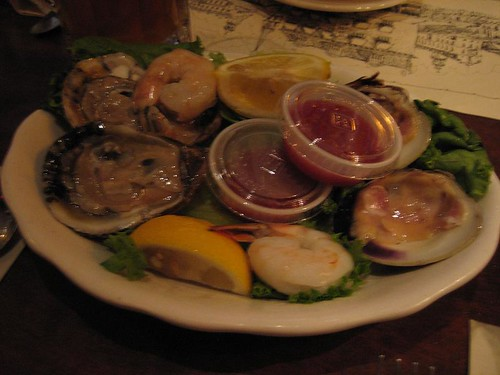 our eleven dollar seafood platter