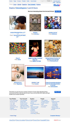 My First Flickr Explore Photo