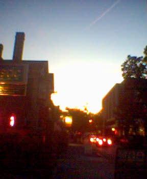 Providence at dusk