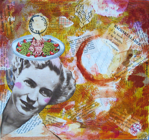 Collage: Bacon Lady
