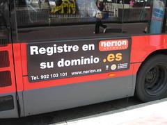 ¿Dominios en los autobuses?