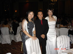 Monash Ball 2005 Flame and Frost - Shing Ying, Daniel, Me