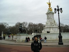 Depan Buckingham Palace, London, UK