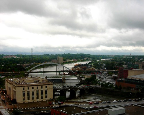 Rochester in the Rain