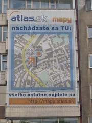 mapy Bratislava