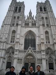 Cathédrale Sts-Michel et Gudule, Brussels, Belgium