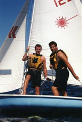 Ryan and Brian - Sailing