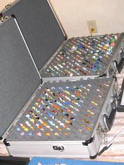 gun case full o' marbles