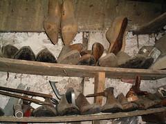 formas de sapatos antigas