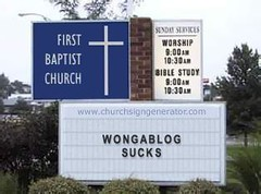 The church's take on wongaBlog