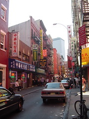 chinatown's streets
