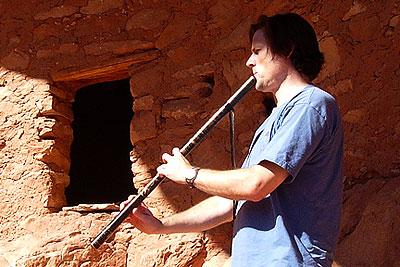 Anasazi Native American flute
