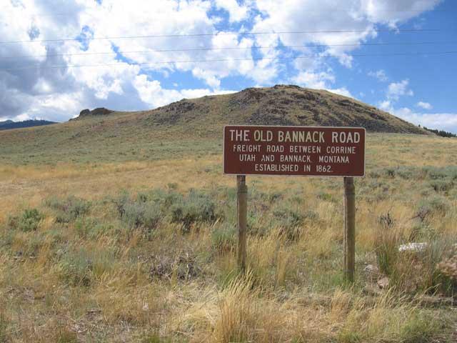 old bannack road