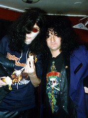Joey Ramone & Rick Richards