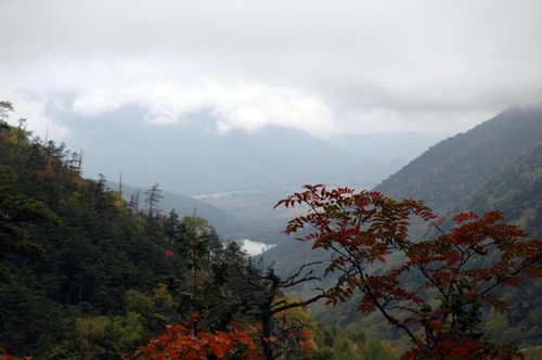 Lake Yunoko from Mt.Konsei