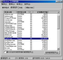 Firefox 1.5 Beta 2 Memory 01