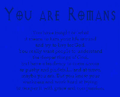 You Are Romans