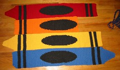 Crayon Baby Blanket