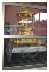 Golden Chariot at Kollur Mookambika Temple