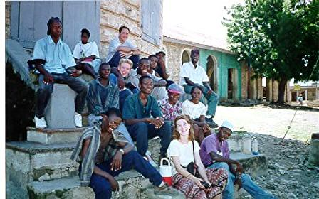 with YWAM Haiti teammates, in Haiti