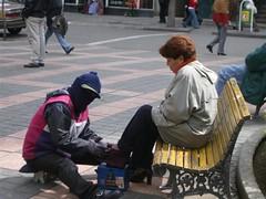 La Paz - 28 - Shoe shiner