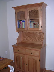 The hutch we bought with wedding gift money