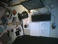 melles Schreibtisch