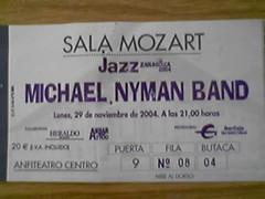 Concierto de Michael Nyman